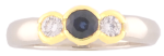 14 Katar Yellow Gold<br> Accent Diamonds =.19